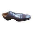 Chaussures à lacets NO NAME Marron