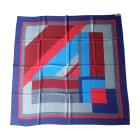 Tuch, Schal DIOR Bleu,rouge,bordeau,gris clair et gris foncé