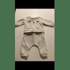 Ensemble & Combinaison pantalon H&M Blanc, blanc cassé, écru