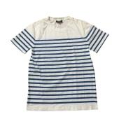 Top, tee-shirt A.P.C. Bleu, bleu marine, bleu turquoise