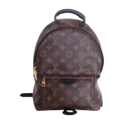 Sac à dos LOUIS VUITTON Marron