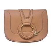 Leather Handbag SEE BY CHLOE Nude