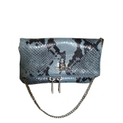 Handtasche Leder ZADIG & VOLTAIRE Blau, marineblau, türkisblau