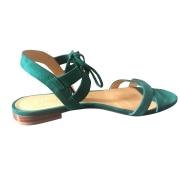 Sandales plates  SÉZANE Vert