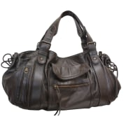 Leather Handbag GERARD DAREL Brown