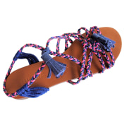 Flat Sandals BIMBA & LOLA Multicolor