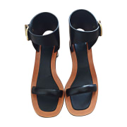 Heeled Sandals CÉLINE Black