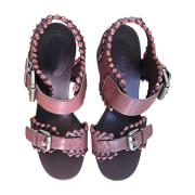 Sandales à talons SEE BY CHLOE Multicouleur