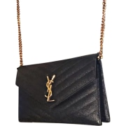 Pochette SAINT LAURENT Noir