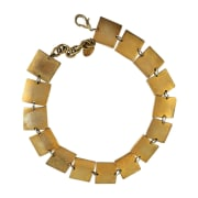 Necklace PACO RABANNE Golden, bronze, copper