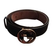 Wide Belt GUCCI Black