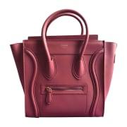 Leather Handbag CÉLINE Pink, fuchsia, light pink