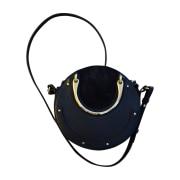 Leather Shoulder Bag CHLOÉ Blue, navy, turquoise