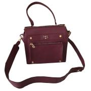 Leather Shoulder Bag ZADIG & VOLTAIRE Red, burgundy