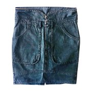 Mini Skirt ISABEL MARANT ETOILE Gray, charcoal