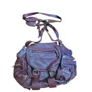 Leather Shoulder Bag JEROME DREYFUSS Red, burgundy