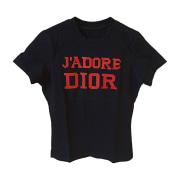 Top, tee-shirt DIOR Noir