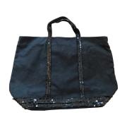 Sac XL en tissu VANESSA BRUNO Bleu, bleu marine, bleu turquoise