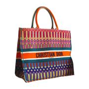 Non-Leather Oversize Bag DIOR Orange