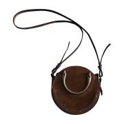 Leather Shoulder Bag CHLOÉ Brown