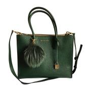 Leather Handbag MICHAEL KORS Green