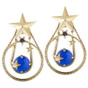 Earrings REMINISCENCE Golden, bronze, copper