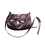 Leather Shoulder Bag NAT & NIN Black