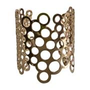 Bracelet PACO RABANNE Doré, bronze, cuivre