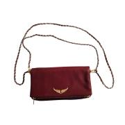 Handtasche Leder ZADIG & VOLTAIRE Rot, bordeauxrot