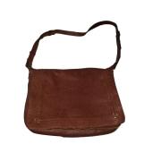 Leather Shoulder Bag JEROME DREYFUSS Brown