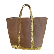 Non-Leather Handbag VANESSA BRUNO Beige, camel
