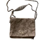 Non-Leather Handbag ZADIG & VOLTAIRE Gray, charcoal
