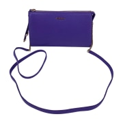 Leather Shoulder Bag FURLA Purple, mauve, lavender
