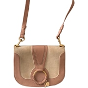 Leather Shoulder Bag SEE BY CHLOE Nude
