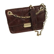Leather Shoulder Bag ZADIG & VOLTAIRE Brown
