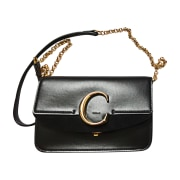 Leather Handbag CHLOÉ Black