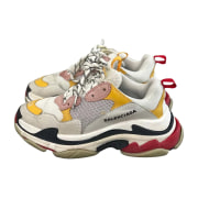 Baskets BALENCIAGA Triple S Multicouleur