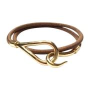Bracelet HERMÈS Doré, bronze, cuivre