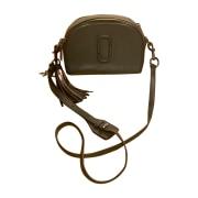Leather Shoulder Bag MARC JACOBS Gray, charcoal