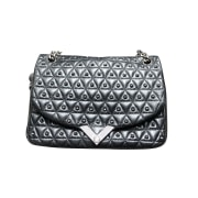 Borsa a tracolla in pelle THE KOOPLES Nero