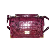 Borsa a tracolla in pelle THE KOOPLES Rosso, bordeaux