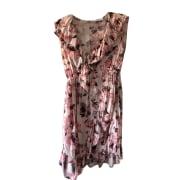 Mini Dress IRO Pink, fuchsia, light pink