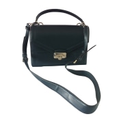 Borsa a tracolla in pelle MICHAEL KORS Blu, blu navy, turchese
