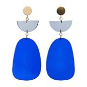 Boucles d'oreille ISABEL MARANT Bleu, bleu marine, bleu turquoise