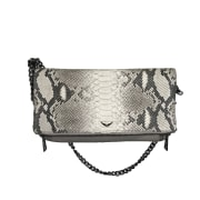 Borsa a tracolla in pelle ZADIG & VOLTAIRE Beige gris