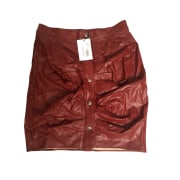 Mini Skirt ISABEL MARANT ETOILE Red, burgundy