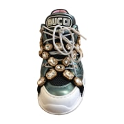 Sports Sneakers GUCCI White, off-white, ecru