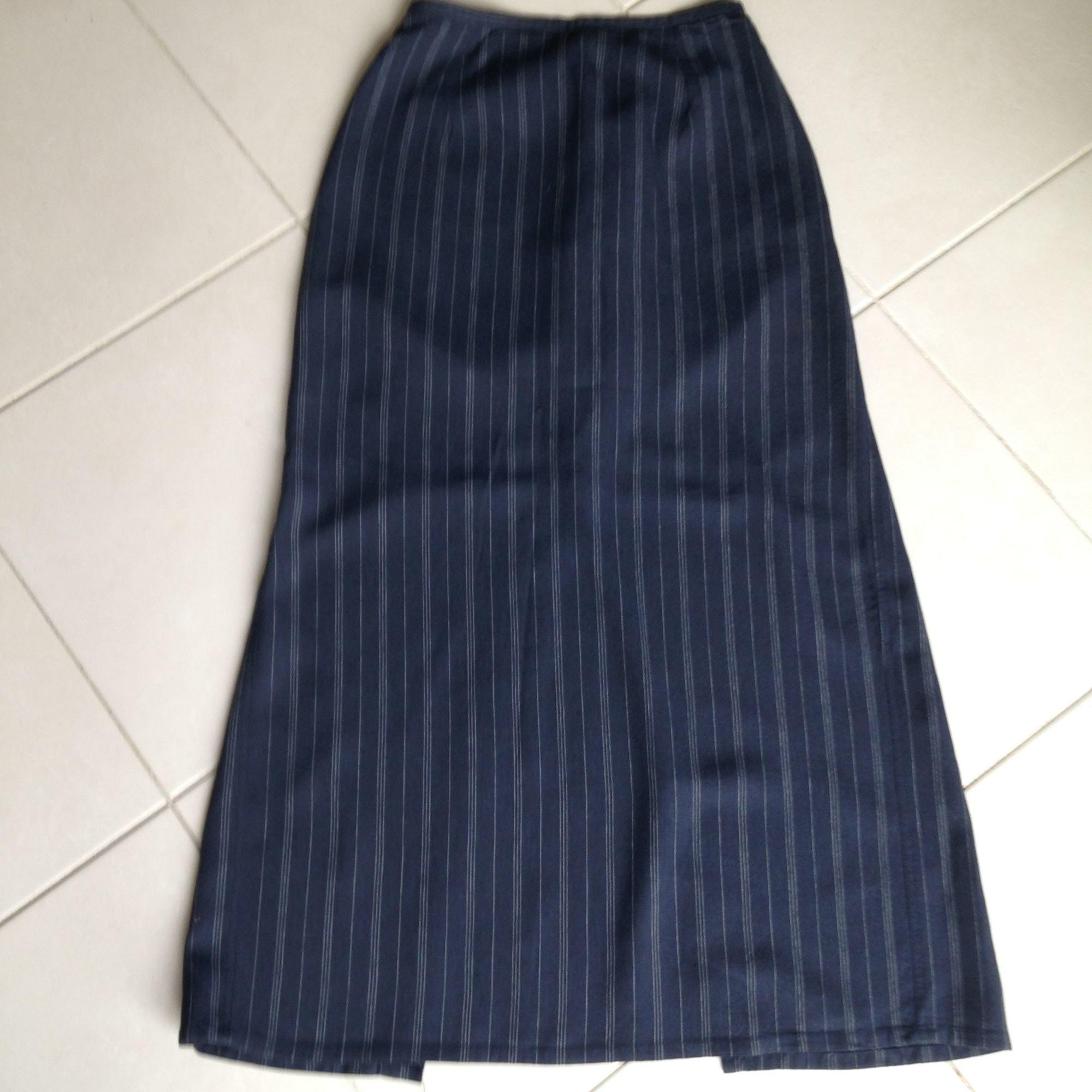 Tailleur jupe CORINNE SARRUT Bleu, bleu marine, bleu turquoise