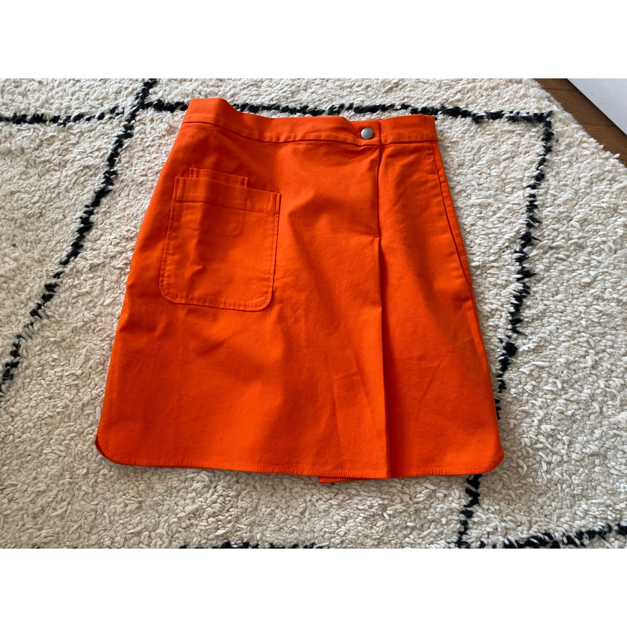 Jupe mi-longue COS Orange