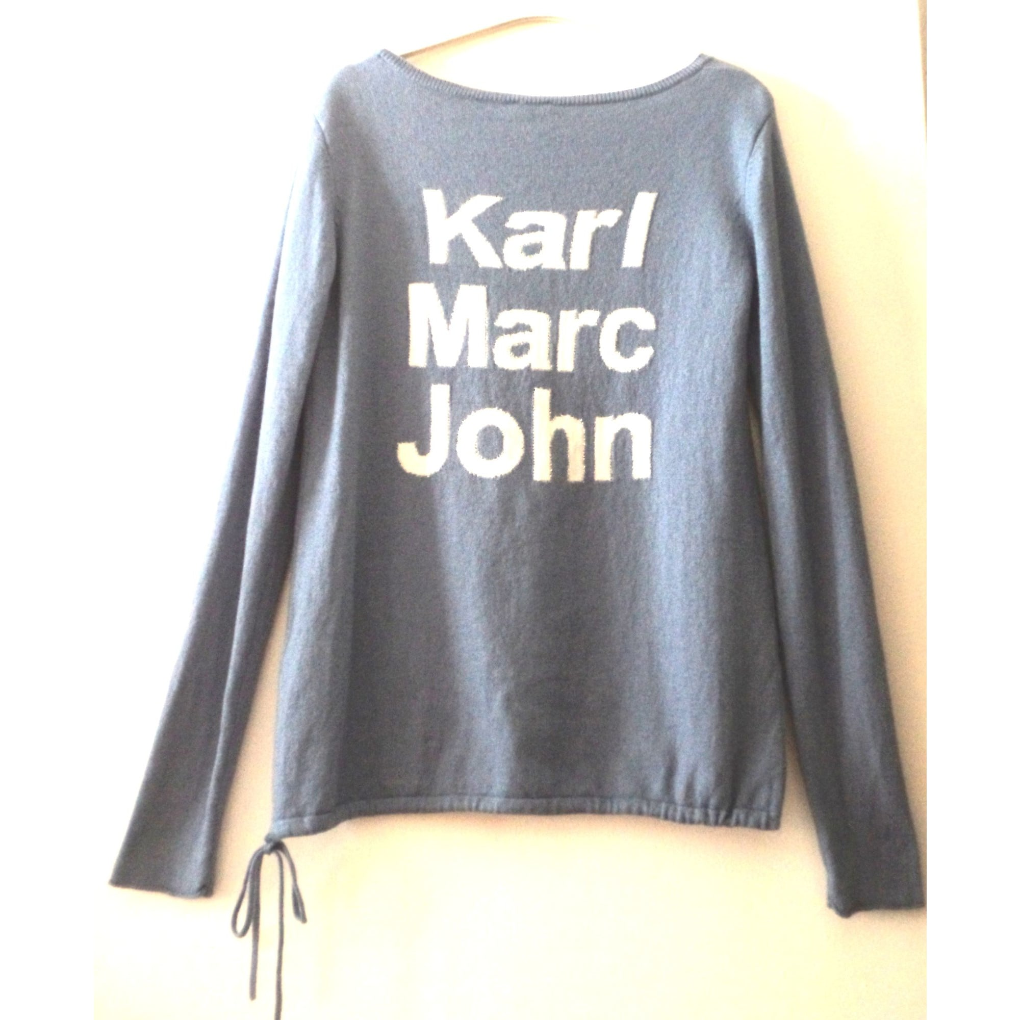 Pull KARL MARC JOHN Bleu, bleu marine, bleu turquoise